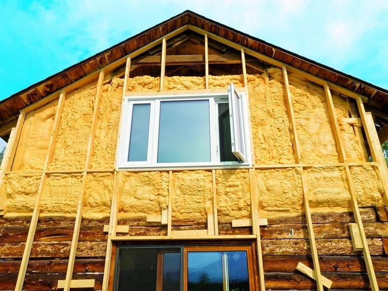 фото утепление фасада деревянного дома пенопластом жизнь Минато