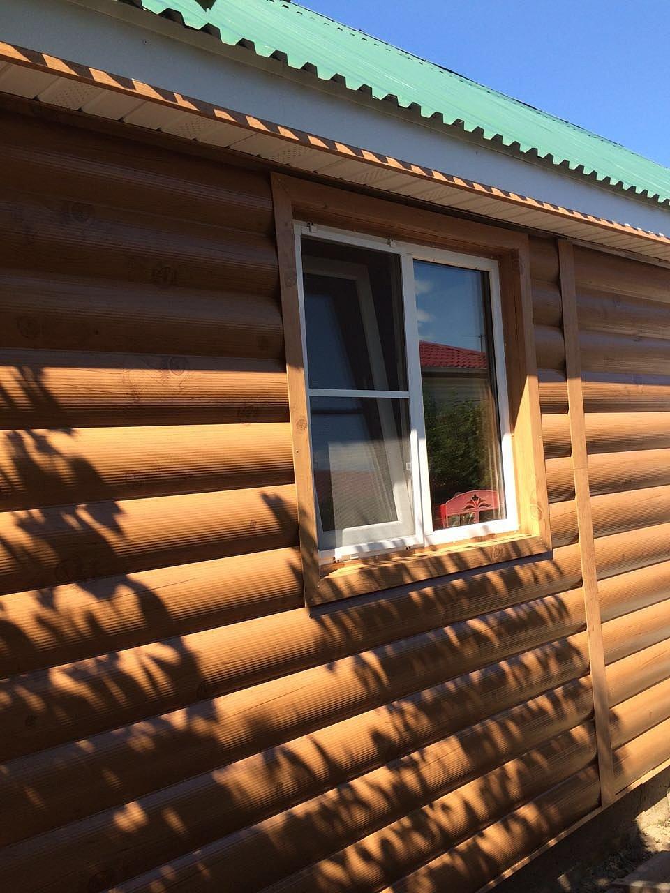 Как обшивать деревянный дом профнастилом своими руками