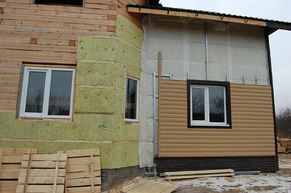 Внешняя облицовка дома сайдингом с утеплителем – эффективность и основные ошибки