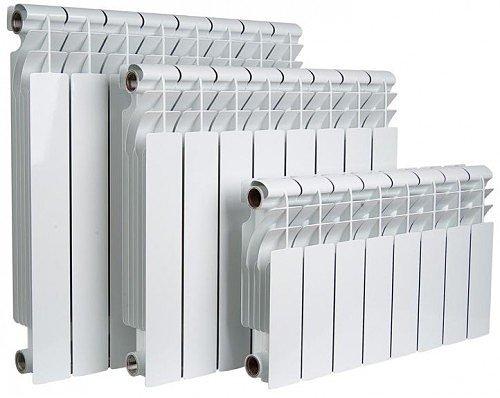 Алюминиевые радиаторы и комплектующие для радиаторов отопления (вентили, краны, затворы)