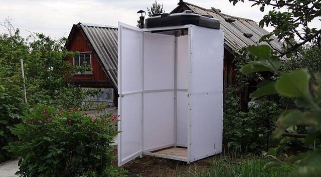 Строительные и кровельные материалы для летнего душа на даче купить в Хабаровске