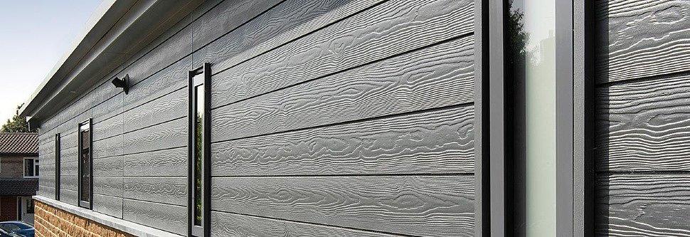 Фасадные материалы: фиброцементные панели Ханьи Original, фиброцементный сайдинг Cedral (Кедрал) и многое другое
