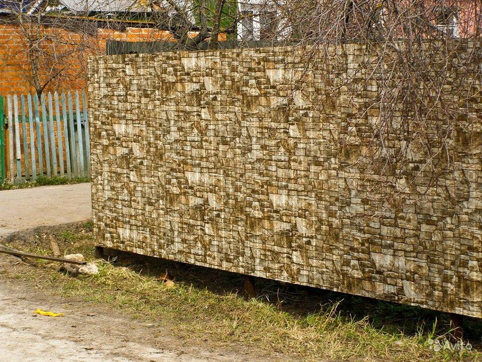 забор из профнастила, своими руками, профнастил хабаровск, профнастил в хабаровске купить